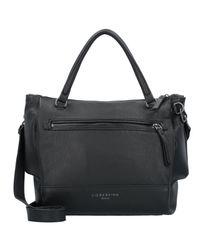 Liebeskind Black Agira Handtasche Leder 23 cm