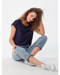 Vero Moda Blue Blusenshirt 'Vmboca'