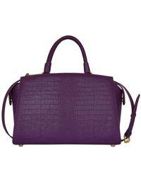 Silvio Tossi Purple Tasche
