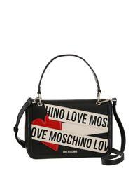 Love Moschino Black Umhängetasche