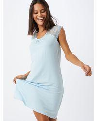 Schiesser Blue Nachthemd