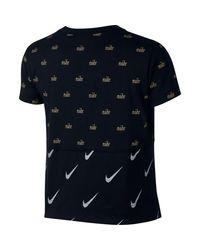 Nike T-Shirt in Blue für Herren