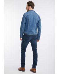 Mustang Jacke in Blue für Herren