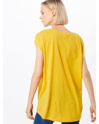 Noisy May Yellow Shirt 'MATHILDE'
