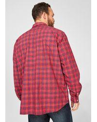 S.oliver Hemd in Red für Herren
