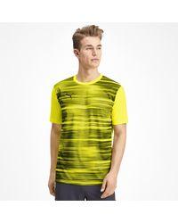PUMA T-Shirt 'Core Graphic' in Yellow für Herren