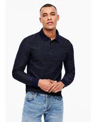 S.oliver Shirt in Blue für Herren