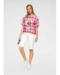 Love Moschino Multicolor Bluse