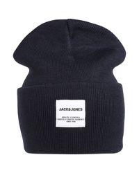 Jack & Jones Mütze in Blue für Herren