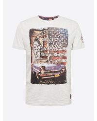 Brave Soul T-Shirt in Multicolor für Herren