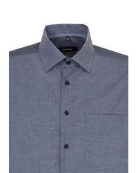 Seidensticker Hemd 'Comfort' in Blue für Herren