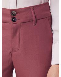 Mos Mosh Red Hose 'Blake Night Pant Sustainable'