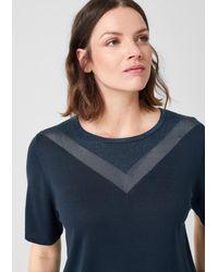 Triangle Blue Pullover