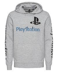 Only & Sons Gray Sweatshirt ́ PLAYSTATION ́