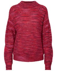 Pieces Red Pullover
