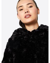 Vero Moda Black Kunstfelljacke