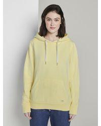 Tom Tailor Denim Multicolor Strick & Sweatshirts Schlichter Hoodie