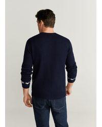 Mango Pullover 'Taz' in Blue für Herren