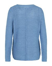 Only Carmakoma Blue Pullover