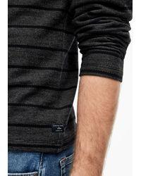 S.oliver Shirt in Black für Herren