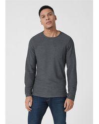 S.oliver Shirt in Gray für Herren