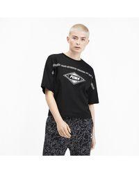 PUMA Black T-Shirt 'LuXTG'