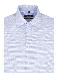 Seidensticker Hemd 'Modern' in Blue für Herren