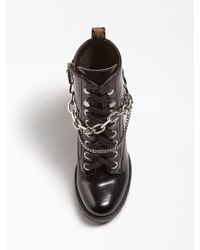 Guess Black Stiefelette