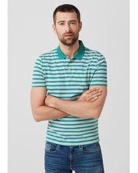S.oliver Poloshirt in Blue für Herren