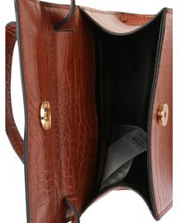 Object Brown Tasche 'TALULA PU CROSSOVER REP'