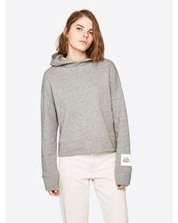 Pepe Jeans Gray Sweatshirt 'TELMA' Dua Lipa Collection