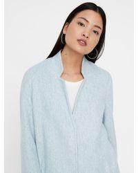 Vero Moda Blue Mantel