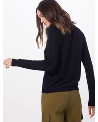 Pieces Black Pullover 'PCESERA LS KNIT'