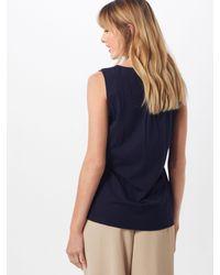 Opus Blue Bluse 'Ferla'