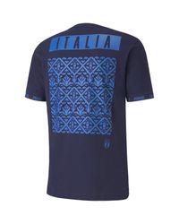 PUMA T-Shirt in Blue für Herren
