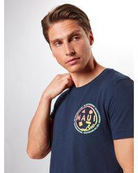 Tom Tailor Denim T-Shirt in Blue für Herren