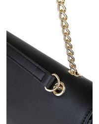 Love Moschino Black Handtasche mit Kettenhenkeln