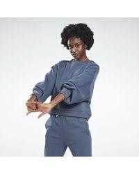 Reebok Blue Sportsweatshirt