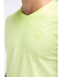 Petrol Industries T-Shirt in Yellow für Herren