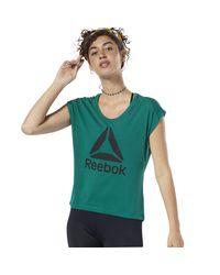 Reebok Green Funktionsshirt