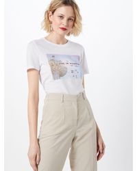 ONLY White T-Shirt 'INDRE'