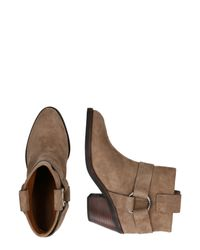 See By Chloé Brown Stiefelette 'SB33025A'