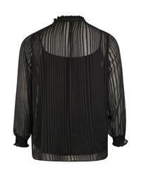 Only Carmakoma Black Bluse