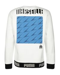 PUMA Trainingssweater 'Olympique Marseille Culture' in Multicolor für Herren