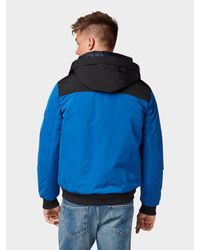 Tom Tailor Denim Wattierte Jacke in Blue für Herren