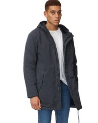 Marc O'Polo DENIM Parka in Blue für Herren