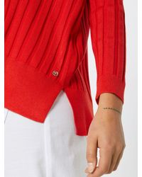 Tom Tailor Denim Red Pullover