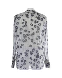 Schumacher Gray Bluse