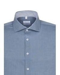 Seidensticker Hemd in Blue für Herren