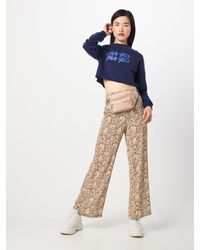 NA-KD Blue Sweatshirt 'Short Sweat'